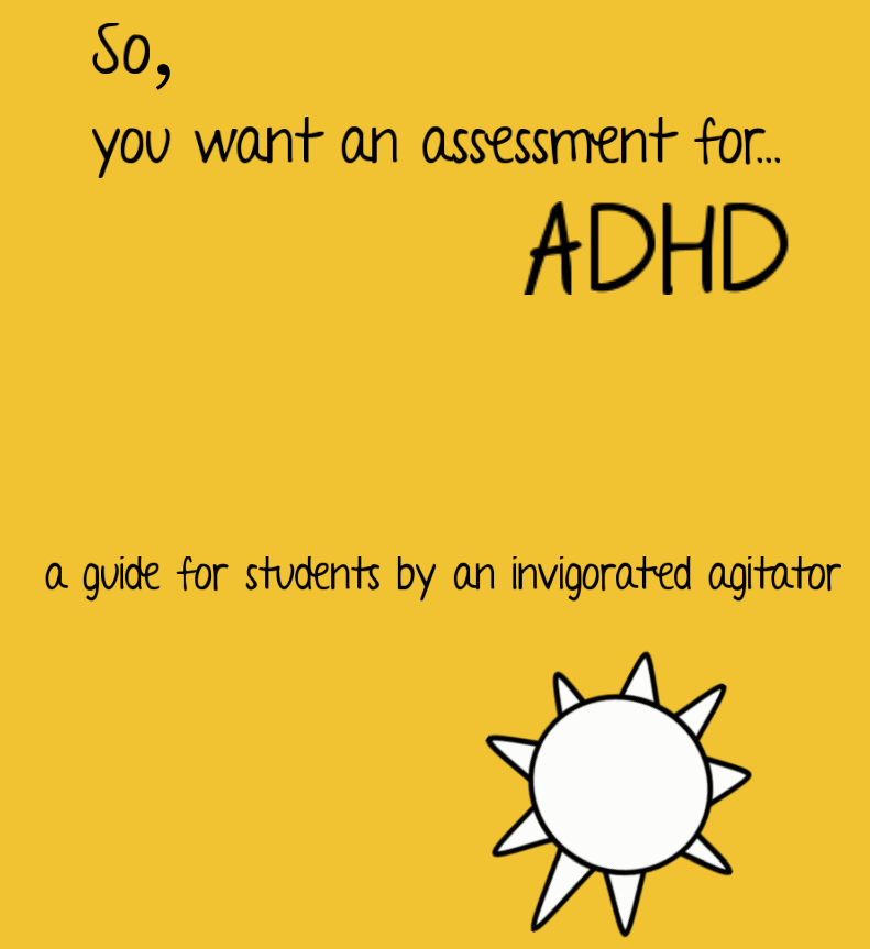 So, you want an assessment for ADHD? – guide