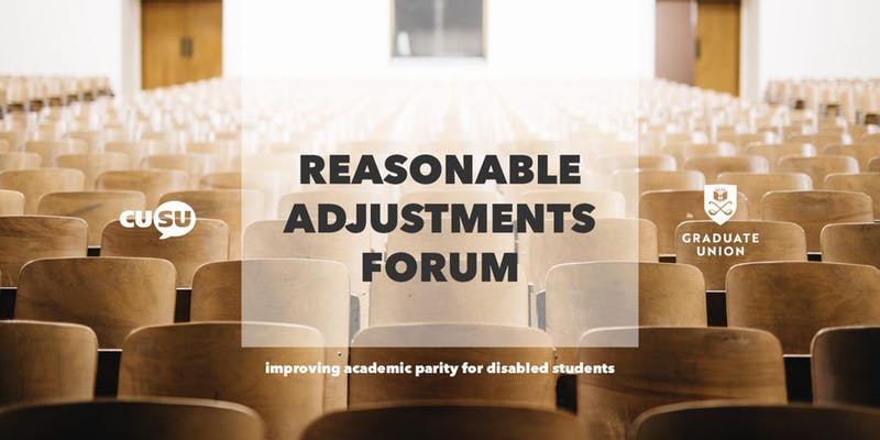 Summary of Findings: Academic Reasonable Adjustments Forum 2019